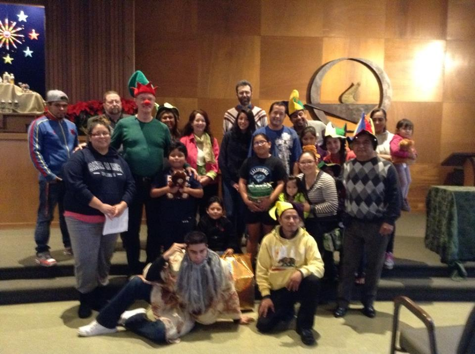 The Fools Mission Community at our 2014 Holiday Party