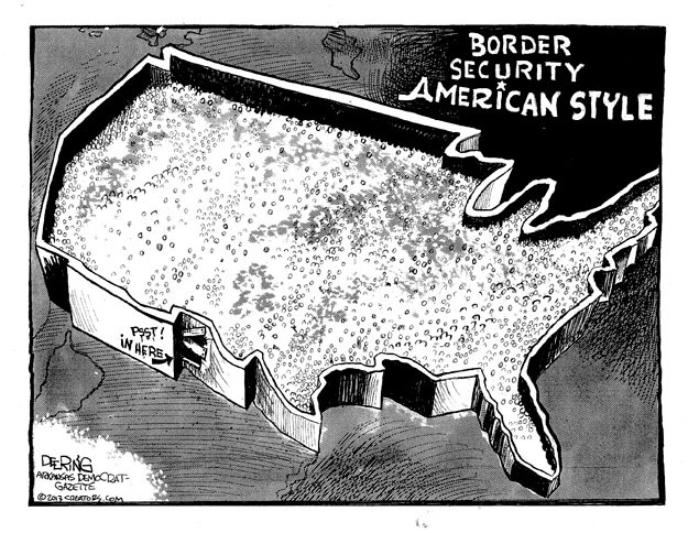 Border Security American Style